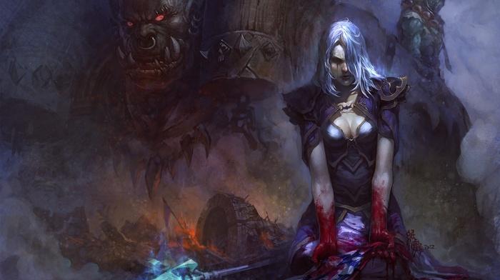 World of Warcraft, Jaina Proudmoore, Garrosh Hellscream, orcs, Thrall
