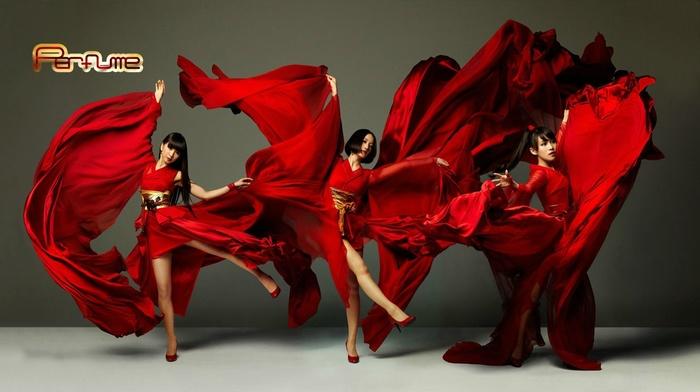 girl, VMAJ, dancing, Perfume Band, kimono, Asian, j, pop, costumes, Perfume, MTV