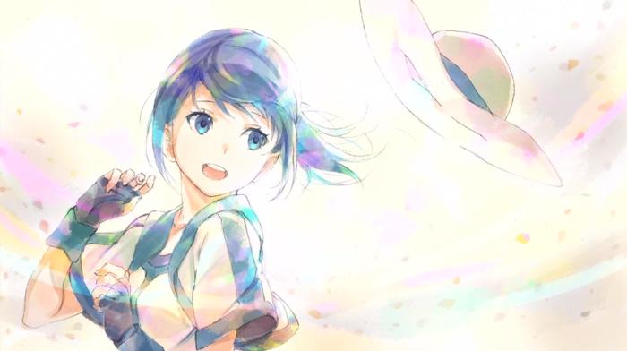 Mary Hai to Gensou no Grimgar, anime girls, Hai to Gensou no Grimgar, blue hair, anime