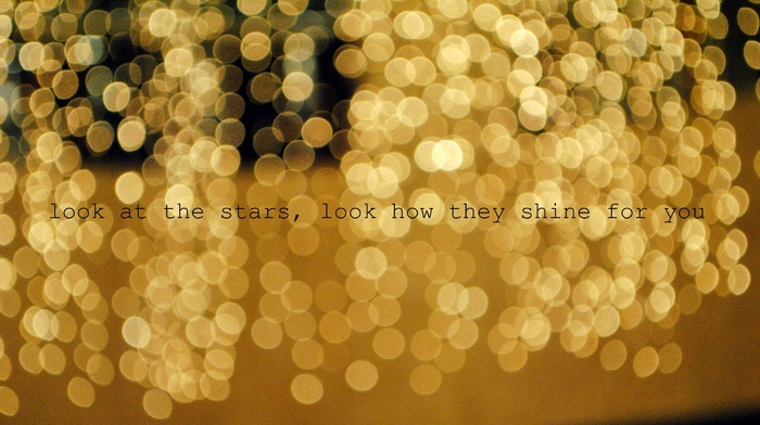 text, quote, bokeh, lyrics, music, Coldplay