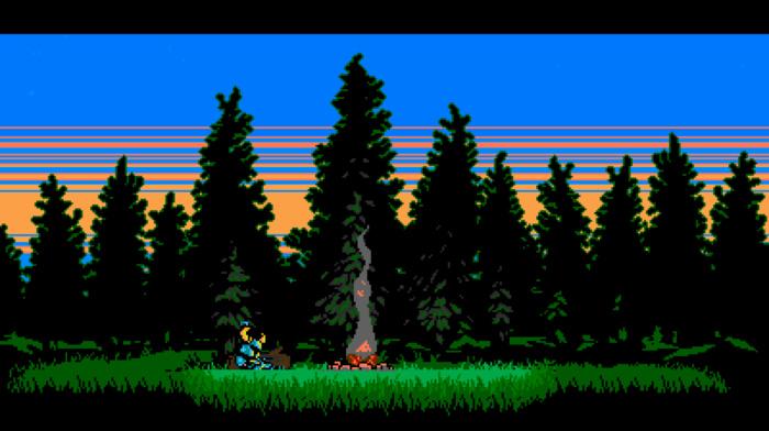 retro games, video games, 16, bit, Shovel Knight, pixel art, 8