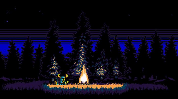 video games, pixel art, Shovel Knight, retro games, 8, bit, 16