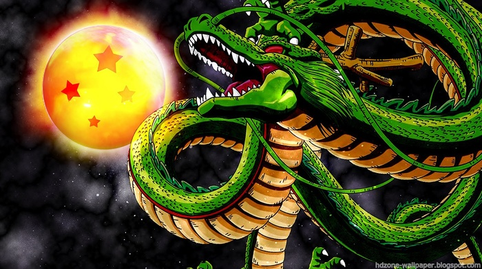 Dragon Ball, shenron, dragon