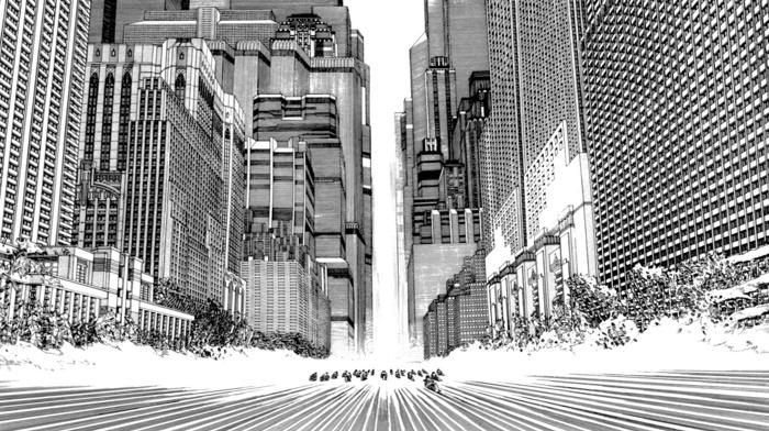 manga, Monochrome Factor, Akira, katsuhiro otomo