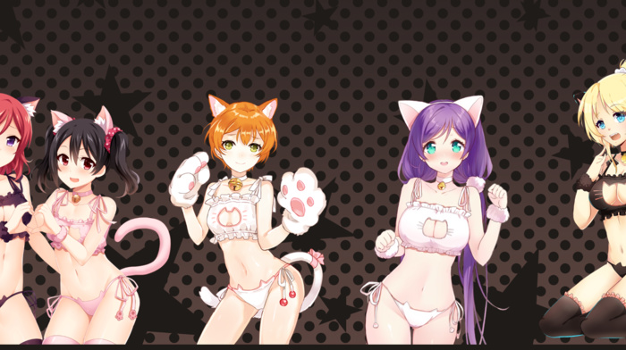 Love Live, Toujou Nozomi, Yazawa Nico, Nishikino Maki, Hoshizora Rin, Ayase Eri