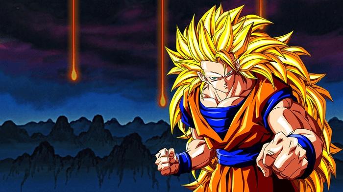 Dragon Ball Z, Son Goku, Super Saiyan 3, Dragon Ball