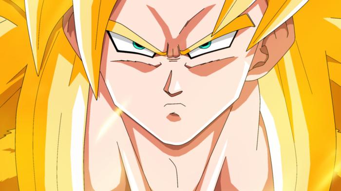 Dragon Ball Z, anime, Son Goku, Dragon Ball, Super Saiyan 3