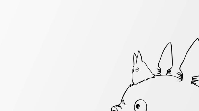 My Neighbor Totoro, Totoro, anime, Studio Ghibli