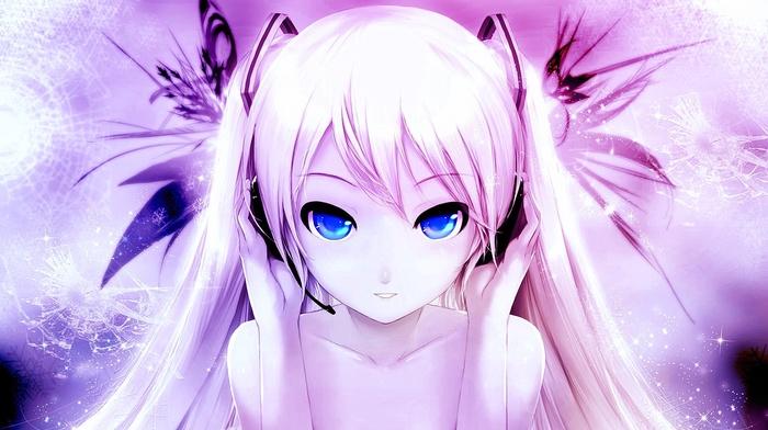Hatsune Miku, Vocaloid, anime girls, anime