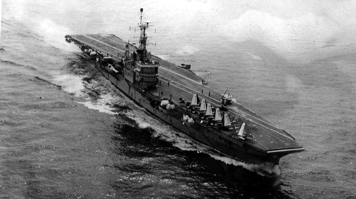 military, vehicle, indian, navy, aircraft carrier, monochrome, INS Vikrant R11, Indo, Pak War 1971