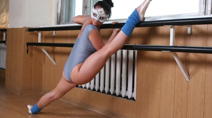 model, mask, ballerina, girl