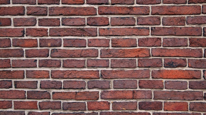 wall, texture, structure, rectangle, red, building, pattern, bricks