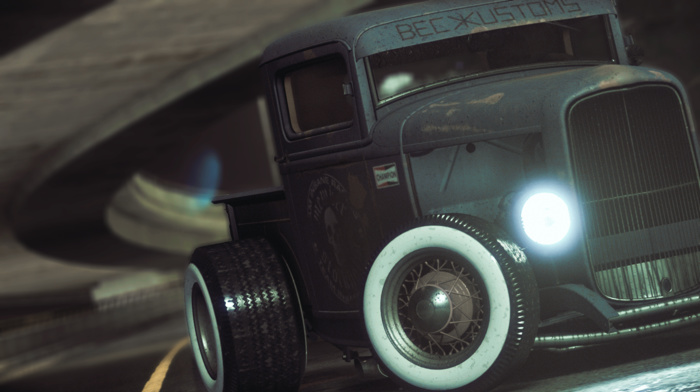 Need for Speed, photography, custom, Ford, Rat Rod, car, Hot Rod
