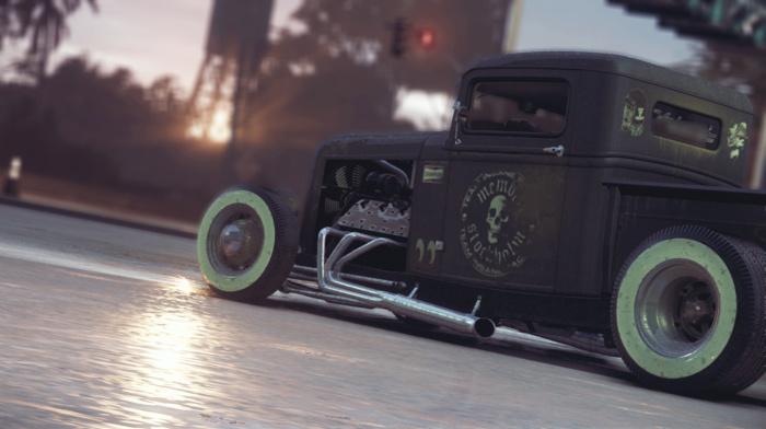 Ford, car, CGI, custom, Need for Speed, Rat Rod, Hot Rod