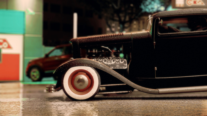 Ford, car, custom, Hot Rod, photography, Need for Speed, Rat Rod