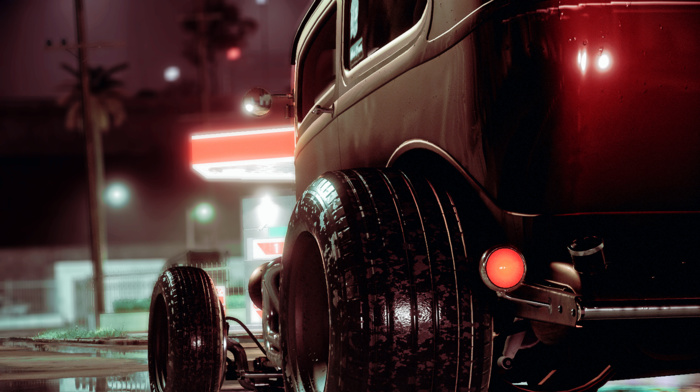 Need for Speed, photography, Ford, Hot Rod, Rat Rod, custom, car