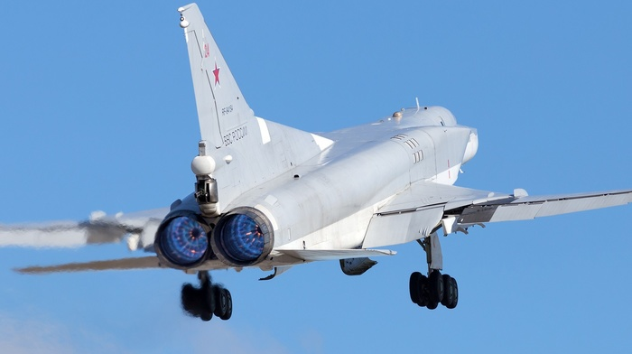 vehicle, Bomber, Russian Air Force, military aircraft, aircraft, Tupolev Tu, 22M3
