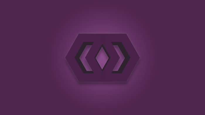 logo, hex, photoshop, purple, Revealed Design