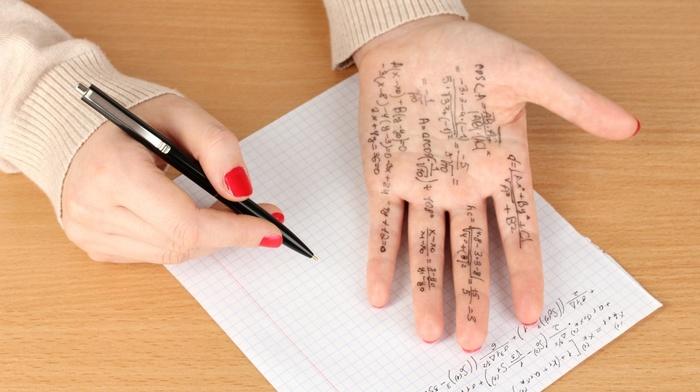 formula, hands, mathematics