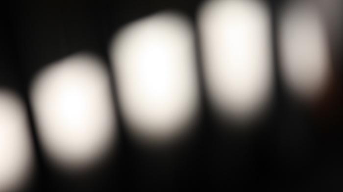 blurred, lights