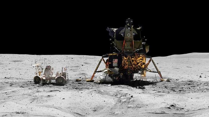 white, Earth, moon, NASA, North America, Rover, stone, Apollo, space, black, spacesuit