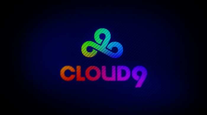 Cloud9, rainbows, 9, cs, blue