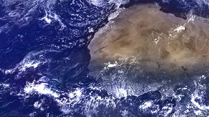 black, brown, NASA, Earth, blue, Pacific Ocean, Africa, clouds, space