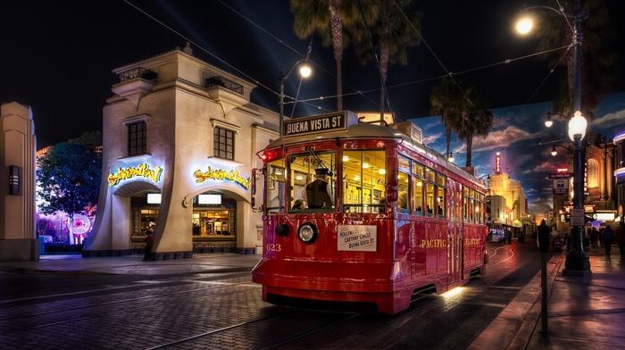 tram, city