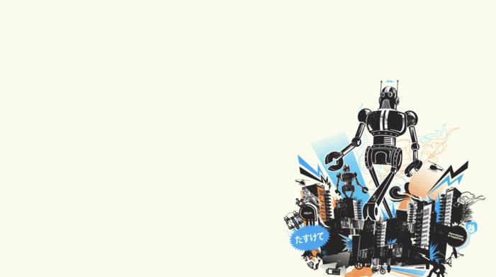 robot, minimalism