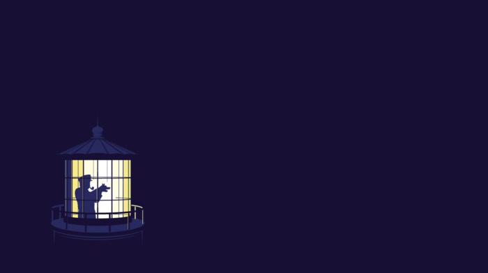 minimalism, lighthouse