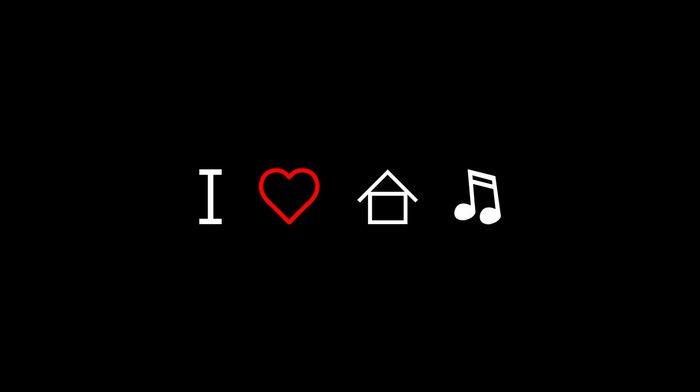 music, simple background, love