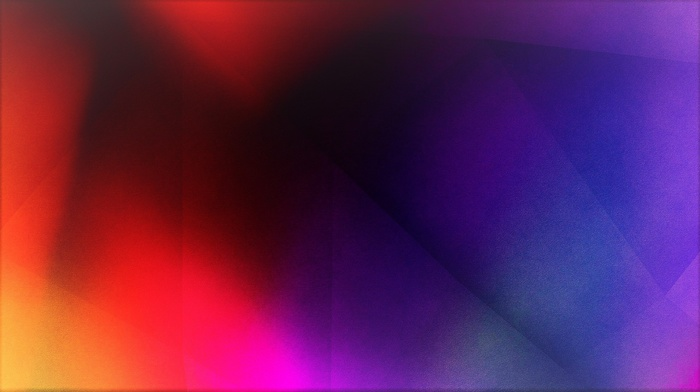 abstract, 3D, yellow, bright, dark, red, blue, orange, black, gradient