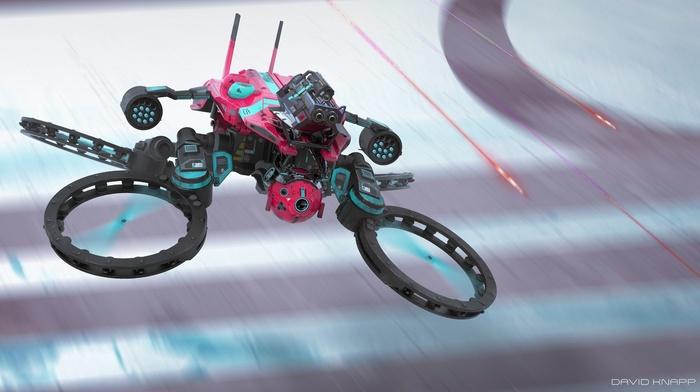artwork, David Knapp, science fiction