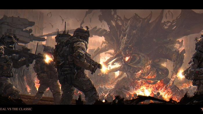 StarCraft, science fiction, artwork