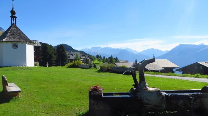 mountains, Aletsch Glacier, Rideralp, Switzerland