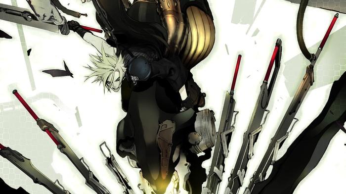 artwork, Final Fantasy, Final Fantasy VII Advent Children, anime, Final Fantasy VII