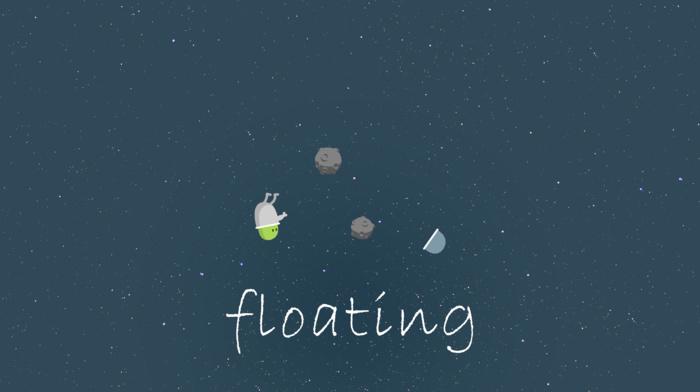 astronaut, asteroid, night, stars, sky, floating, space, illustration