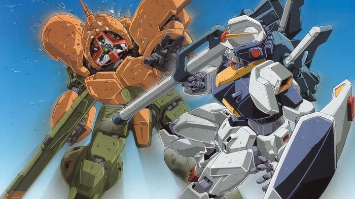 mech, gundam, robot
