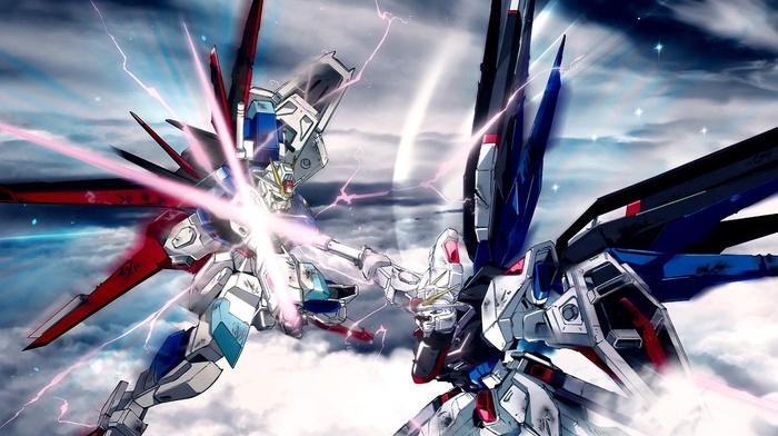 mech, gundam, Gundam Seed, robot