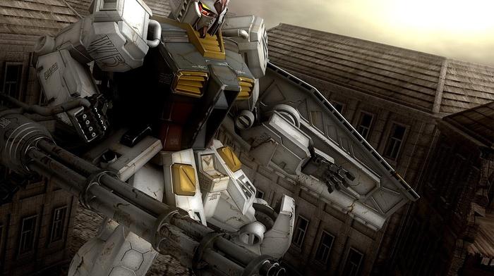 mech, gundam, robot, RX, 78 Gundam
