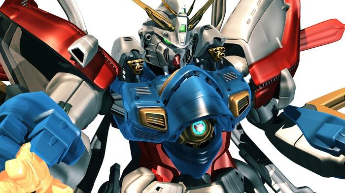 gundam, robot, mech