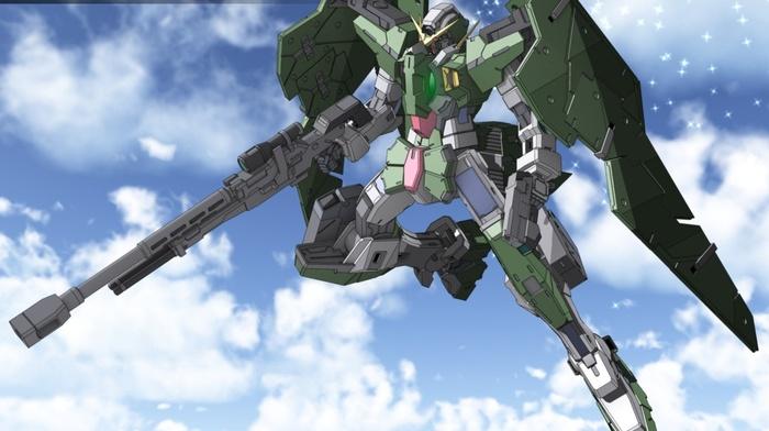 gundam, Gundam 00 Dynames, mobile suit gundam 00, robot, mech