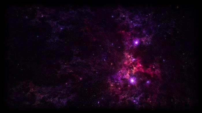 space, galaxy, purple