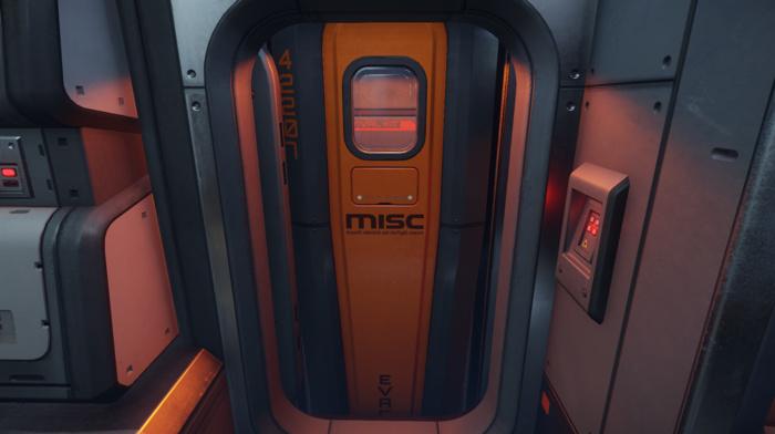 Star Citizen, MISC Starfarer, video games, ship