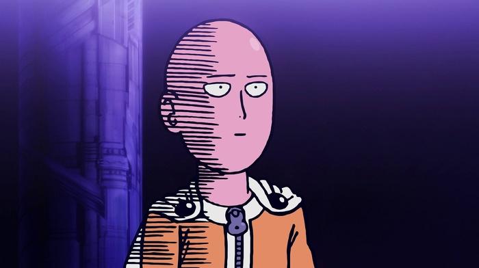 Saitama, anime, One, Punch Man