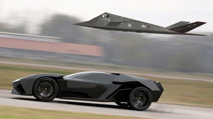 Super Car, Lamborghini, car, Lamborghini Ankonian Concept