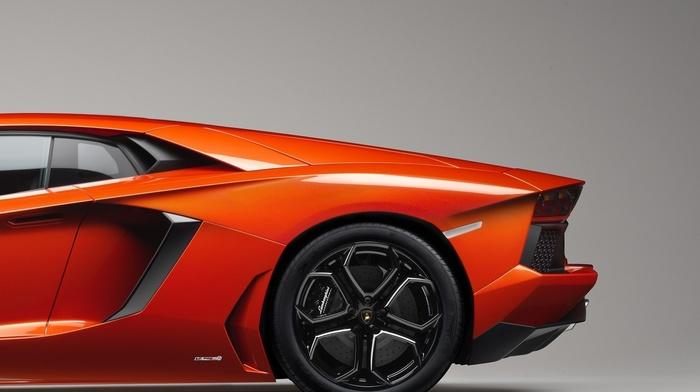 Lamborghini, orange cars