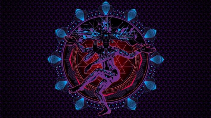 digital art, Shiva