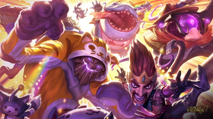 League of Legends, Tahm Kench League of Legends, Draven, Maokai League of Legends