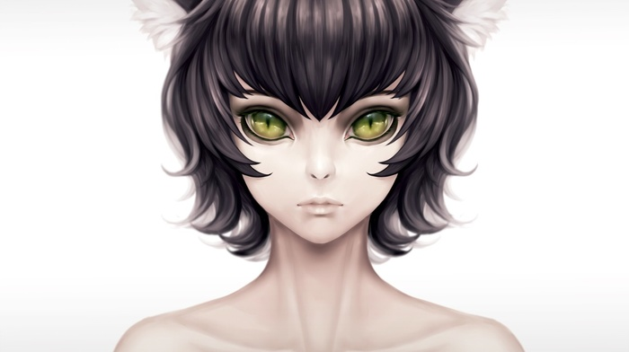 animal ears, cat girl, original characters